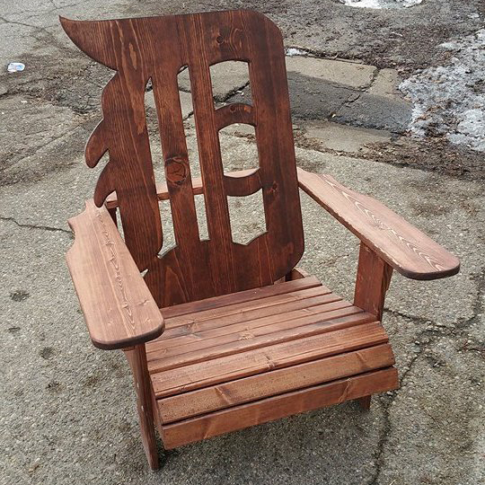 Detroit Adirondack Chair Outdoor Furniture Wiley Concepts