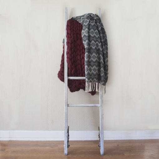 Rustic Wooden Blanket Ladder - Wiley Concepts
