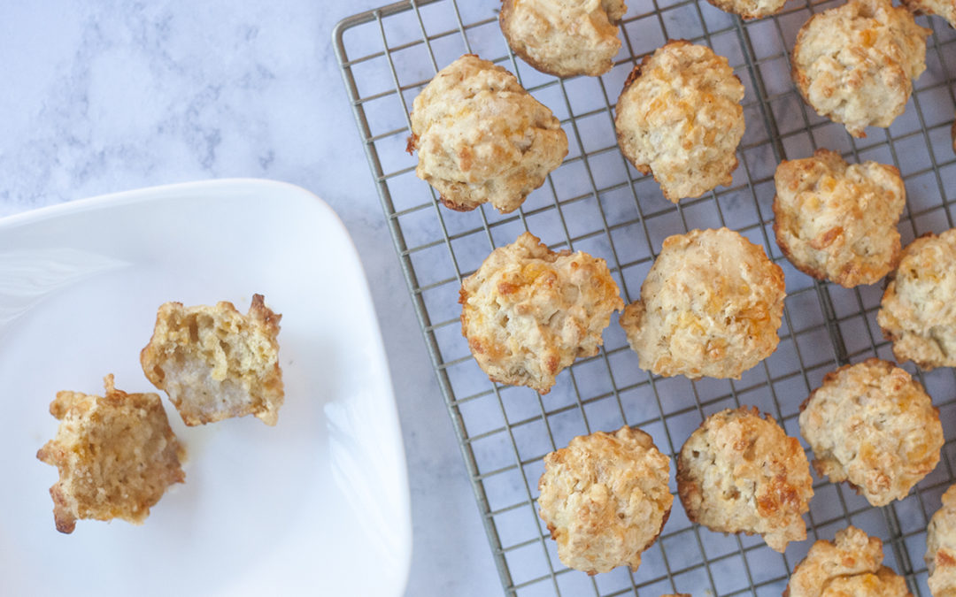 Fail Proof Cheddar Biscuits