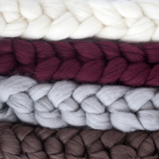 Merino Wool Scarfs | Henstooth Homestead
