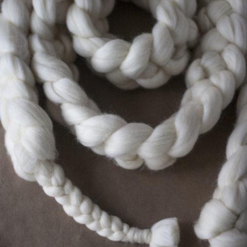 Merino Wool Scarf - Henstooth Homestead