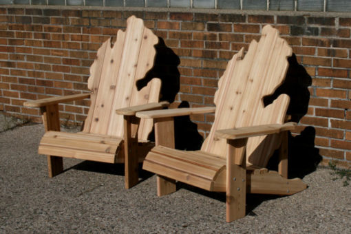 Michigan Adirondack Chair Set - Wiley Concepts