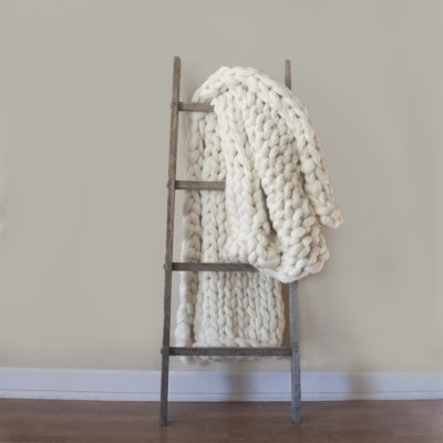 Rustic Blanket Ladder: Original Apple Picking Ladder Base - Wiley Concepts