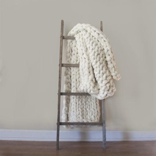 Rustic Blanket Ladder: Original Apple Picking Ladder Base - Wiley Concepts