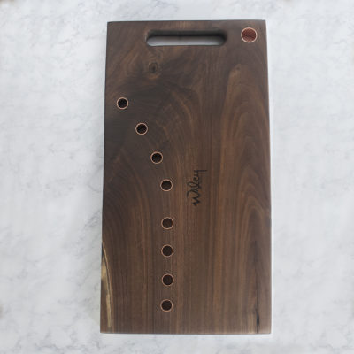 Walnut Copper Serving Board - Wiley Concepts