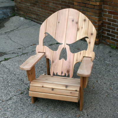 Adirondack Skull Chair - Wiley Concepts