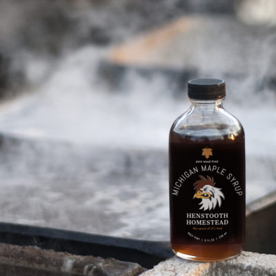 Pure Michigan Maple Syrup 8oz | Henstooth Homestead