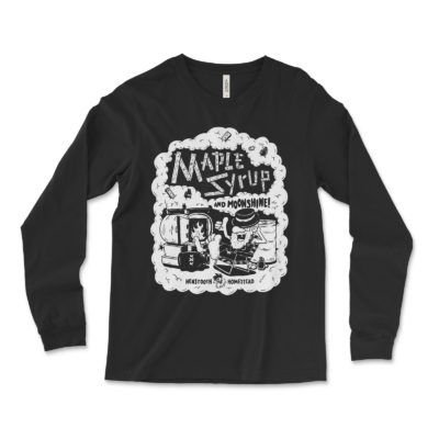 Maple Syrup and Moonshine Long Sleeve   Henstooth Homestead